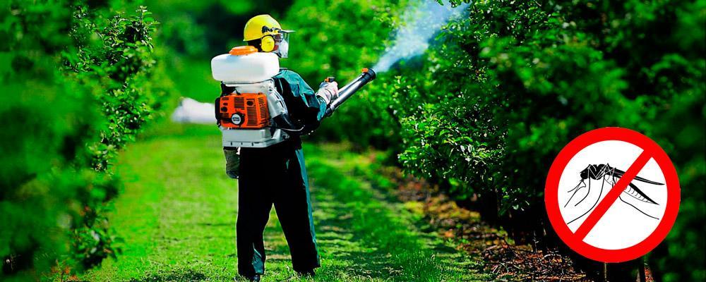 методы обработки от комаров